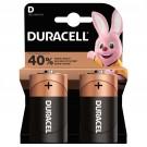 Baterie Duracell Basic, D / R20, alcalina, 2 buc