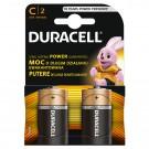 Baterie Duracell Basic, R14 / C, Alkaline, 2 buc