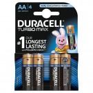 Baterie Duracell Turbo Max, AA, Alkaline, 4 buc