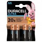 Baterie Duracell Turbo Max, AA, alcalina, 4 buc
