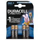 Baterie Duracell Turbo Max, AAA, Alkaline, 4 buc