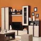 Biblioteca living Hector, wenge + ferrara, 289 cm, 4C