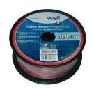 Cablu difuzor 2 x 0.5 LSP-CCA0.50BR-100-WL