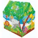 Casuta copii, Intex Playground fun, din plastic , interior / exterior, 107 x 85 x 75 cm