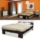 Dormitor Raul  -  Pat magia+alb