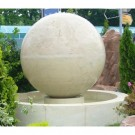 Sfera Terra D 150 cm, cu bazin Rhonda, decoratiune gradina, D 360 cm
