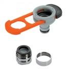 Adaptor robinet - furtun pentru irigatii gradina, 1 iesire, filet interior/exterior, Gardena 08187-20