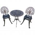 Set masa si 2 scaune pentru gradina San Remo din metal