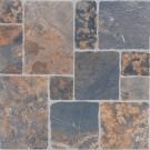 Gresie exterior / interior portelanata antiderapanta Liguria 6035-0188 gri, mata, imitatie piatra, 33 x 33 cm