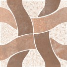 Gresie exterior / interior portelanata Nervastone 90531 maro, mata, 33 x 33 cm
