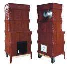 Soba teracota, pe lemne, mobila, tip D, 9 kW, 1250 x 570 x 350 mm