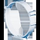 COLIER FIXARE PVC VENTILATIE D125MM
