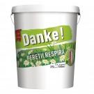Vopsea lavabila interior Danke - peretii respira, alb, 25 L