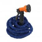 Kit pentru irigatii cu furtun expandabil 19 mm, 5-15 m + cuple + pistol de stropit + perie
