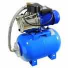 Hidrofor Wasserkonig HWX4200/25 Plus, cu pompa autoamorsanta din inox + vas 24 L + presostat + manometru + furtun flexibil + racord 5 cai, 1300 W
