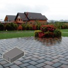 Pavaj rezidential Symmetrica, dreptunghi, gri, 200 x 100 x 40 mm