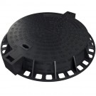 Rama + capac canalizare D400 MQD80 rotunda