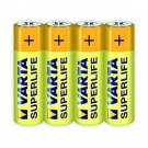 Baterie Varta Superlife 2006, R6 / AA, Zinc - Carbon, 4 buc