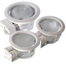 Corp iluminat Xpoint PNE218 MWH, 2 x 18W, incastrat, IP40