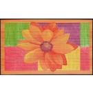 Covoras baie Friedola 77701, model floral, 80 x 50 cm