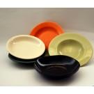 Farfurie adanca din ceramica, diverse culori