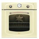 Cuptor incorporabil Whirpool AKP 288/JA, electric, model traditional, 56 l, 9 functii, timer, ventilator tangential, crem