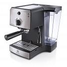 Espressor cafea Electrolux EEA111, cafea macinata, 15 bar, 1470 W, capacitate 1.25 l, gri + negru