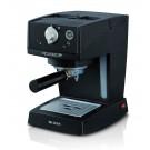 Espressor cafea Ariete Picasso 1365, cafea macinata, 15 bar, 850 W, capacitate 0.9 l, negru