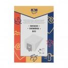 Saci aspirator Bosch/Siemens E/D/G, hartie, pachet 5 bucati + filtru
