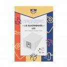 Saci aspirator LG TB-33, hartie, pachet 5 bucati + filtru