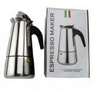 Espressor aragaz pentru cafea, Kasemi, din inox, pentru 6 persoane, 1101289