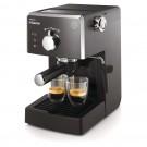 Espressor cafea Philips HD8423/19, cafea macinata + capsule, 15 bar, 950 W, capacitate 1.25 l, negru