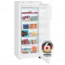 Congelator Liebherr GN 2323, 185 litri, clasa A+, No Frost, 6 sertare, inaltime 144.7 cm, functie SuperFrost, alb