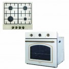 Set Toscana Avena plita gaz PG 660 + cuptor electric rustic FE660