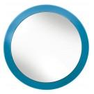 Oglinda cosmetica cu ventuze turcoaz 34186 KW