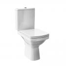 Set WC + rezervor + mecanism Cersanit Easy K102-009, din portelan, 36.5 x 63 x 78 cm