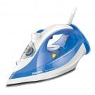 Fier de calcat Philips GC3810/20, 2400 W, 0.30 l, 150 g/min, talpa SteamGlide Plus, alb cu albastru