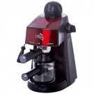 Espressor cafea Samus Alegria, cafea macinata, 3.5 bar, 800 W, capacitate 0.24 l, negru + rosu