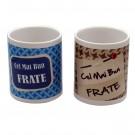Cana cu mesaj Cel mai bun frate, ceramica, multicolor, 250 ml