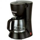 Cafetiera Zass ZCM 02, 600 W, 0.6 l, capacitate 4 - 6 cesti, functie antipicurare, functie de mentinere cald, negru