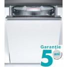 Masina de spalat vase incorporabila Bosch SMV88TX36E, 13 seturi, clasa A+++, 8 programe, latime 60 cm, alb