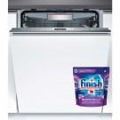 Masina de spalat vase incorporabila Bosch SMV68TX06E, 14 seturi, clasa A+++, 8 programe, latime 60 cm, alb
