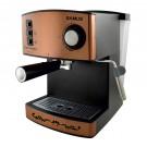Espressor cafea Samus Espressimo Bronze, cafea macinata, 15 bar, 850 W, capacitate 1.6 l, bronz cu negru
