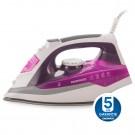 Fier de calcat Daewoo DSI20P, 2400 W,  talpa ceramica, 0.35 l, 55 g/min, sistem auto-curatare, violet