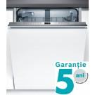 Masina de spalat vase incorporabila Bosch SMV68IX00E, 13 seturi, clasa A+++, 8 programe, latime 60 cm, alb