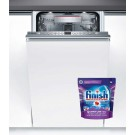 Masina de spalat vase incorporabila Bosch SPV66TX00E, 10 seturi, clasa A++, 6 programe, latime 45 cm, alb