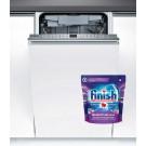 Masina de spalat vase incorporabila Bosch SPV46FX00E, 10 seturi, clasa A++, 6 programe, latime 45 cm, alb