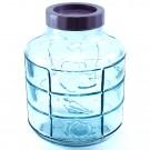 Borcan 10 litri, capac cu filet, sticla, transparent