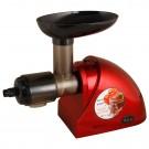 Masina de tocat rosii, electrica, Rohnson R545, 50 kg/h, 1000 W, functie Reverse, rosu