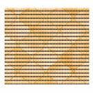 Covoras baie Friedola Yellow 79824.7, antiderapant, model romburi, galben, 65 cm